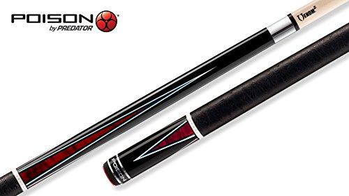 Poison Pool Cues - POISON Arsenic³-3 Pool Cue with Venom² Low-Deflection Shaft