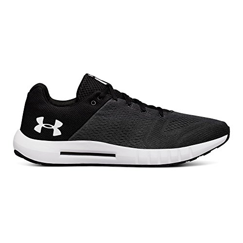 Under Armour Men's Micro G Pursuit Running Shoe, Anthracite (102)/Black, 7.5 M US by Under Armour (Image #1)