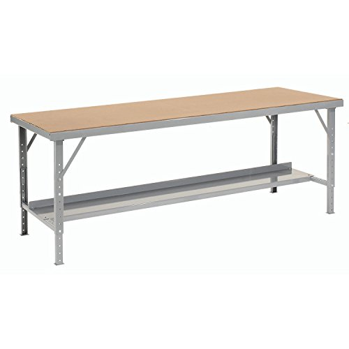 Heavy-Duty Extra Long Hardboard Folding Assembly Workbench, 84