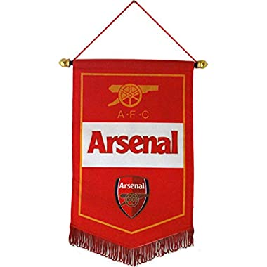 Qzlclub Football Club Flags Soccer Vertical Banner Flag Indoor and Outdoor Flags Bar/Bedroom/Club Decoration Hanging Flags