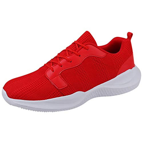 - SSYongxia❤ Classic Sneakers for Women Men Lightweight Walking Running Gym Sneaker for Casual Red