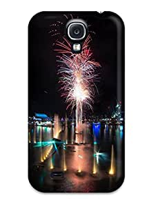 TashaEliseSawyer Snap On Hard Case Cover Darling Harbour Fireworks Protector For Galaxy S4 1963642K81356199