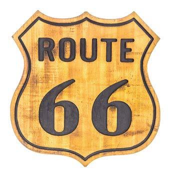 (Nikki's Knick Knacks Route 66 Vintage Wood Sign 14