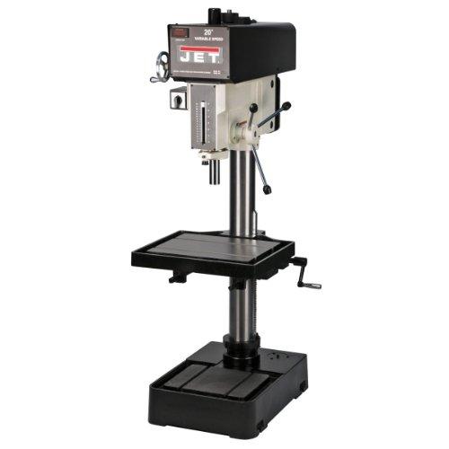 JET J-2221VS 20-inch Variable Speed Drill Press 2HP, 115/230V, 1PH by Jet