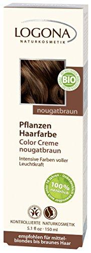Logona Herbal Hair Color Cream, Nougat Brown, 5.10 Ounce