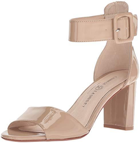 Chinese Laundry Women's Rumor Heeled Sandal, Nude Patent, 7.5 M US