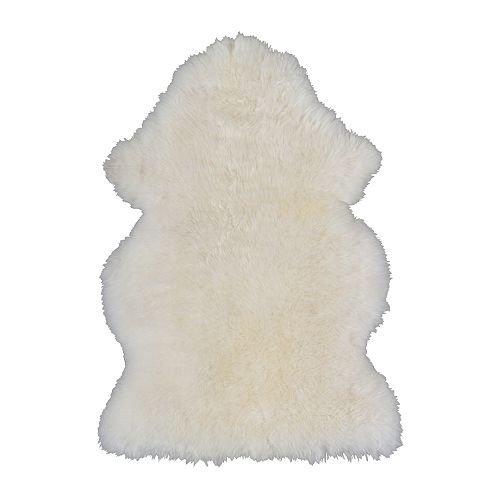 Ikea Rens Sheepskin, white - 1 ea