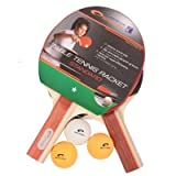 Spokey - STANDARD SET - Table Tennis Set - Two Bats + Balls by Spokey