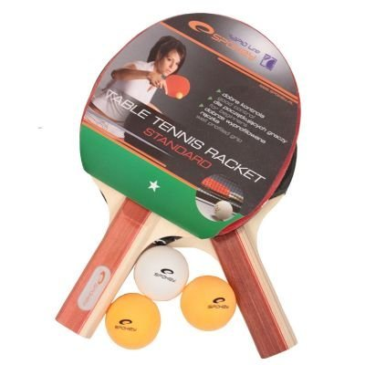 Spokey - STANDARD SET - Table Tennis Set - Two Bats + Balls by Spokey by Spokey