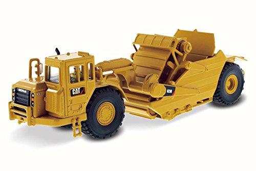 Caterpillar 623G Elevating Scraper, Yellow - Diecast Masters 85097 - 1/50 Scale Diecast Model Toy Car