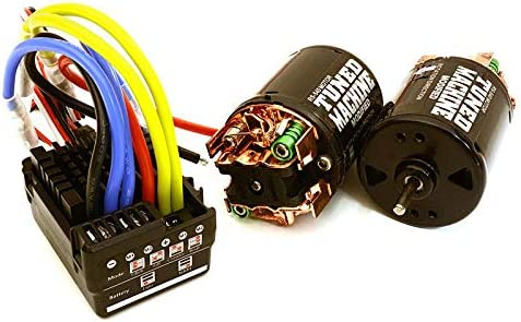 Integy RC Model Hop-ups C27389 Scale Off-Road Edition Waterproof WP-860 ESC & Dual Drive Motors 35T 540 Size