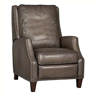 Beaumont Lane Leather Recliner Chair In Sarzana Castle