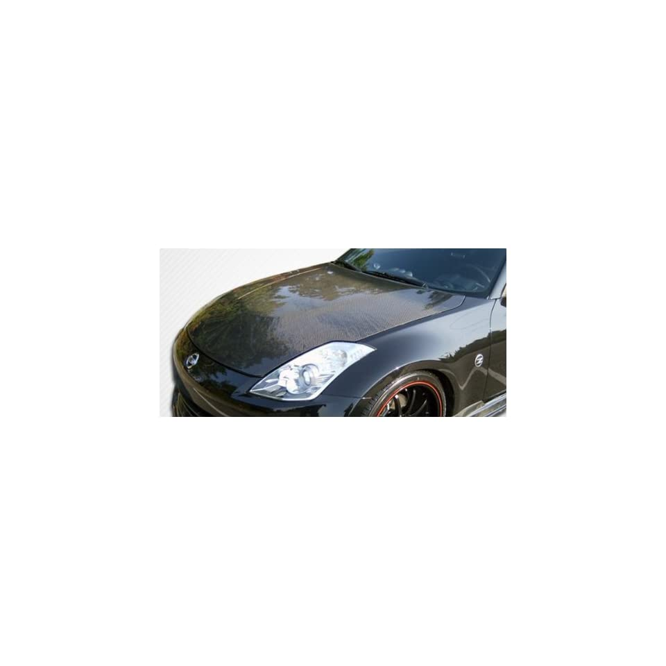 2007 2008 Nissan 350Z Carbon Creations OEM style hood
