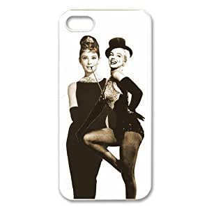 Custom Audrey Hepburn New Back Cover Case for iPhone 5 5S CP720