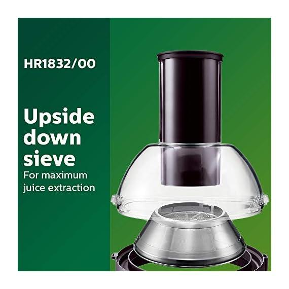 Philips Viva Collection HR1832/00 1.5-Litre 500-Watt Juicer (Ink Black) 5
