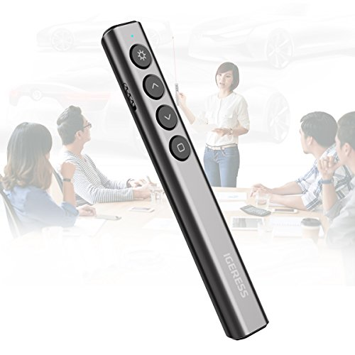 IGERESS Wireless Presenter Remotes PowerPoint Presentation Remote Control with Laser Pointer PPT Clicker by IGERESS (Image #4)