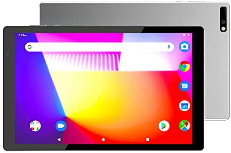 "10 inch Android Tablets,5G Wi-Fi PC Tablet,Octa-Core Processor,3GB RAM,32GB Storage,10.1"" IPS HD Display,8 MP Dual Camera,Bluetooth,FM,GPS (Silver)"