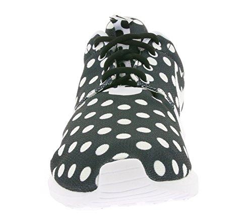 Nike Roshe Nm Qs, Zapatillas de Running para Hombre Negro / Blanco / Gris (Black / White-Wolf Grey)