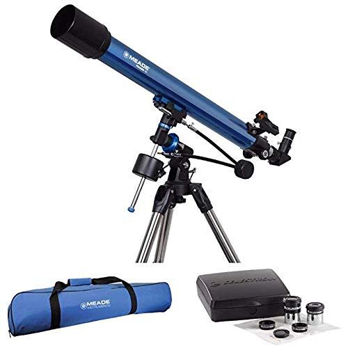 Meade Polaris 70mm German Equatorial Refractor Telescope wit
