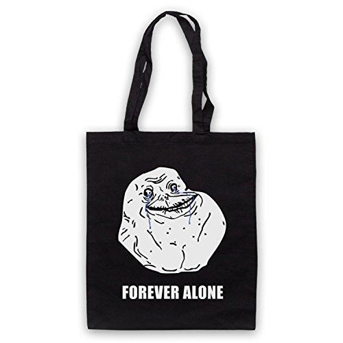 Forever Alone Meme Bolso Negro