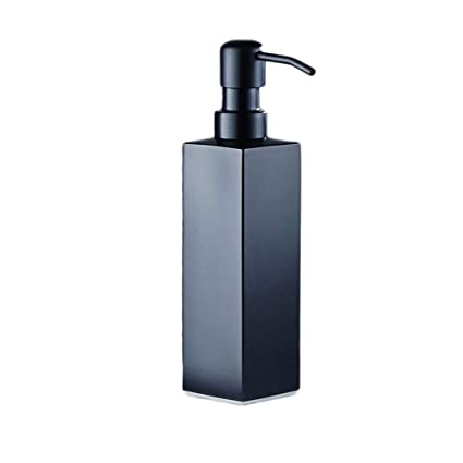 Acero Inoxidable Dispensador de jabón Hotel American Shampoo Shower Gel Botella Baño Jabón Dispensador Desinfectante de