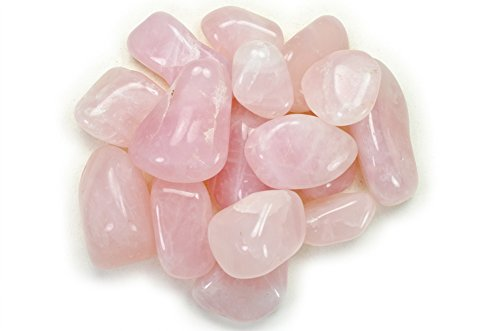 (Hypnotic Gems Materials: 3 lbs Rose Quartz Tumbled Stones A Grade from Brazil - Bulk Natural Polished Gemstone Supplies for Wicca, Reiki, and Energy Crystal HealingWholesale Lot)