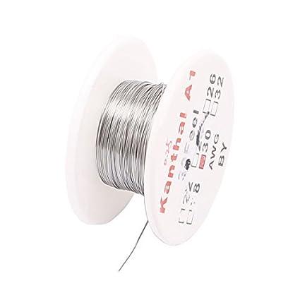 DealMux FeCrAl 10M 32.8ft 0,25 milímetros 30AWG cabo Aquecedor fio para Resistências
