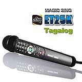 Magic Sing Karaoke ET25KN wired Mic 2300 Tagalog