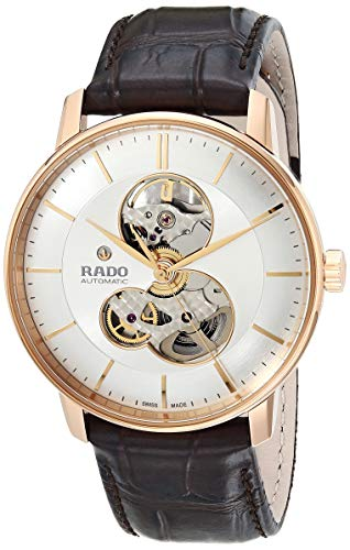 Rado Unisex Coupole Classic Leather Swiss Automatic Watch