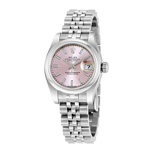 (Rolex Lady Datejust Pink Roman Dial Jubilee Automatic Watch 179160PSJ)