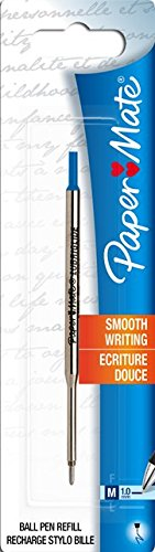 Paper Mate Compatible Ballpoint Pen Refill Lubriglide Medium MADE IN GERMANY
