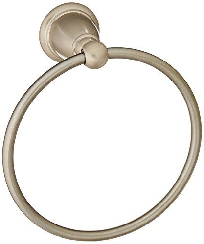 Moen Yb2286bn Brantford Bathroom Towel Ring Brushed Nickel Import It All