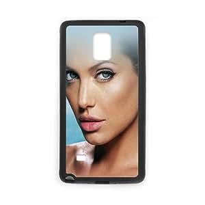 Samsung Galaxy Note 4 Cell Phone Case Black hg00 sexy angelina jolie starring bikini SUX_180319