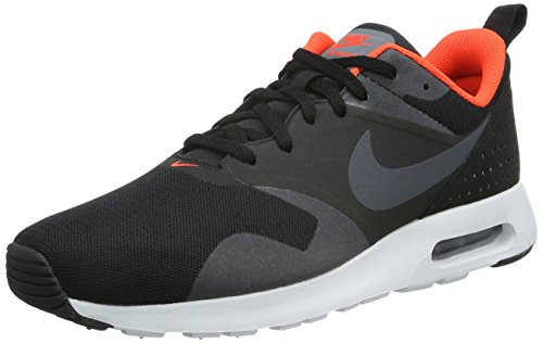 Nike Mens Air Max Tavas Running Shoes Black/Total Crimson/White iPNV2dW