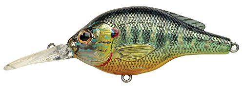 LIVE TARGET Koppers Sided Medium Diving Crank Flat Lure, 2-3/4-Inch, Metallic Review