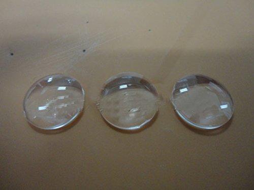 Led 16mm Lens - 10pcs x 16MM lenticular lens 16MM LED optical lens high power double LED lens