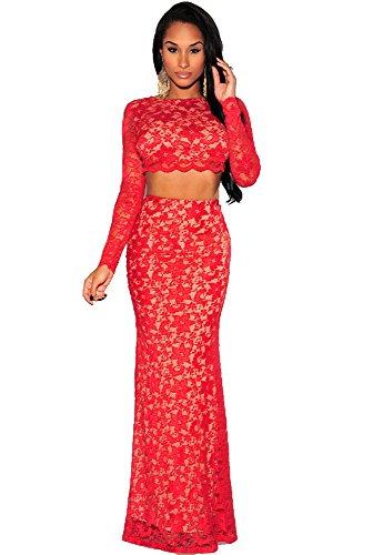 ZARINA®Vestido Plisado de Mujer / Vestido de Novia modelo 60010 Rojo