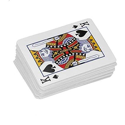 Moda ordinaria Póquer de Juego de Cartas Close-up Truco de ...