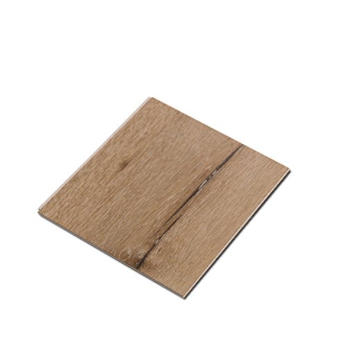 Cali Bamboo - Cali Vinyl Pro Commercial Vinyl Flooring, Extra Wide, Aged Hickory Wood Grain - Sample Size 6