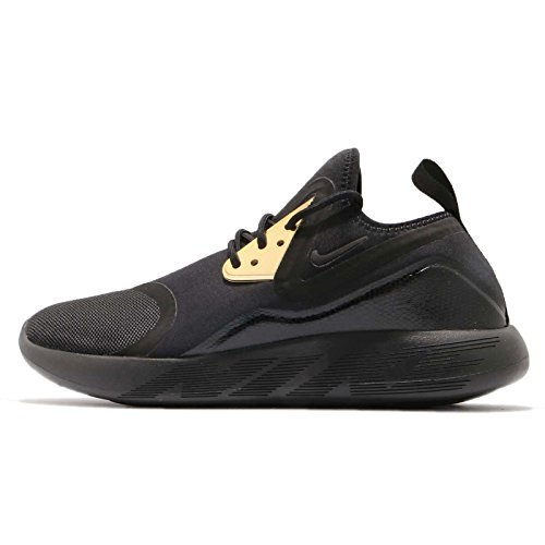 Nike Men Lunarcharge Essential, Black/Metallic Gold BLACK / METALLIC GOLD