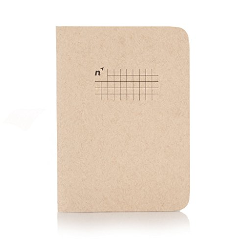 Northbooks A6 Pocket Notebooks   Squares 4 Pack   64 Square Grid Pages   Made in USA