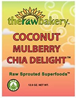 product image for The Raw Bakery - Organic Coconut Mulberry Chia Delight (10 oz.)
