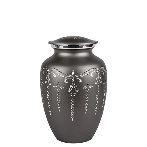 Perfect Memorials Medium Fancy Flourish Cremation Urn