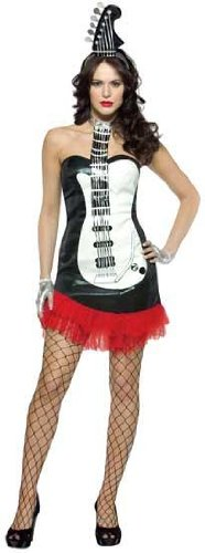 Sexy Glam Rock Guitar - Glam Rock Costume Adult