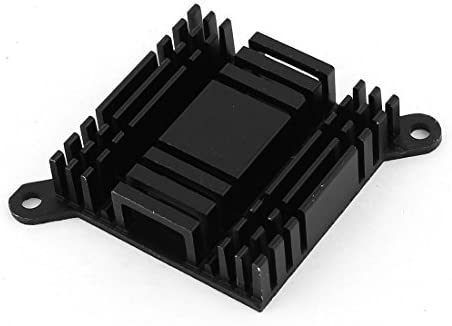 NA Aluminum PC PC Chipset North South Bridge Heat Sink Cooling Fin Black