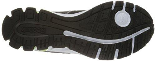 Reebok Mens Jet Dashride 2.0 Running Shoe Black/White/Solar Yellow fflSB1