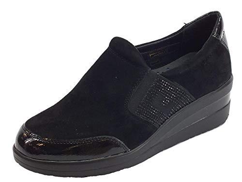 Black Cinzia Women's Flats Loafer Soft qF4wp8xFa
