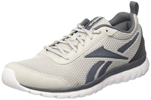 Reebok Herren Sublite Sport Joggingschuhe Mehrfarbig (Grey/alloy/white)