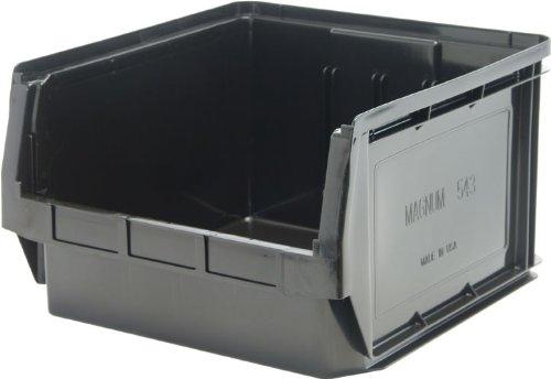 Quantum Storage Systems QMS543BK Heavy Duty Magnum Bin, 19-3/4