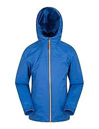 Mountain Warehouse Torrent Kids Jacket - Waterproof Rain Coat